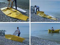 Folding Boat by ThibaultPenven
