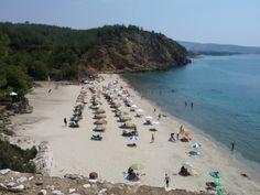 Metallia beach Thassos