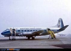 BMA Viscount G-AODG struck the runway at East Midlands Airport 1000 feet short of the intended touchdown point on 20th February 1969.
