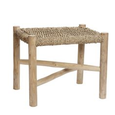 Home goods sales, Privates sales, Designer Clothes - BrandAlley Rattan, Teak, Small Stool, Nordic Style, Vanity Bench, Kobe, Decoration, Cool Furniture, Dining Bench