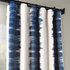 Modify your room by flambe blue Blackout Room Darkening curtain panels. Printed Blackout Room Darkening curtains – find & order luxury printed curtains at our dazzling collection. Grey Curtains, Room Darkening Curtains, Panel Curtains, Blue Striped Curtains, Window Treatment Store, Window Treatments, Printed Curtains, Blue Rooms