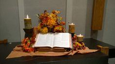 Fall altar Sept 2014