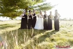 Craig & Shawna's Wedding at Copetown Woods Golf Club Woods Golf, What A Beautiful Day, Outdoor Ceremony, Golf Clubs, Bridesmaids, Wedding, Valentines Day Weddings, Weddings, Marriage