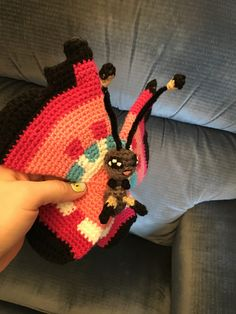 ~and finally, MY version of Vivillon Pokemon amigurumi