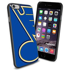 NHL HOCKEY ST Siant Louis Blues Logo, Cool iPhone 6 Smartphone Case Cover Collector iphone TPU Rubber Case Black 9nayCover http://www.amazon.com/dp/B00UNMKBFY/ref=cm_sw_r_pi_dp_gBjsvb161DB24