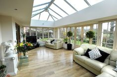 pitched roof single storey side glass extension - Google Search