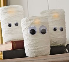 Halloween Mummy Jars