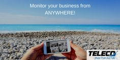 Monitor your business from anywhere (in the world) that has an internet connection with a video surveillance system from Teleco Augusta. You'll appreciate our consultative approach. Call us today at for more info. Communication System, Surveillance System, Telephone, Monitor, Connection, Medical, Internet, Business, Medical Doctor