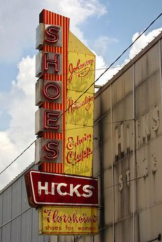Hicks Shoes, Marlin, Texas