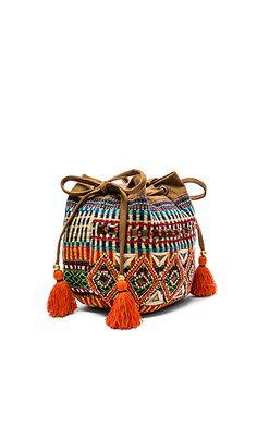 STELA 9 Sitaara Bucket Bag in Multi | REVOLVE