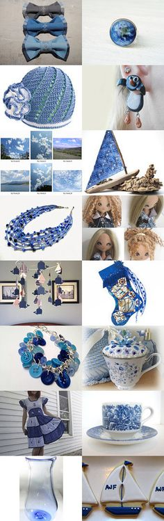 Take in the blue sky! by Natasha on Etsy--Pinned with TreasuryPin.com