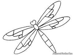 Dragonfly Colouring Page : Mandala Coloring Pages Dragonfly. Simple Dragonfly Animal Coloring Page. Dragonfly Colouring Page. Stained Glass Patterns, Mosaic Patterns, Pattern Art, Embroidery Patterns, Dragonfly Drawing, Birthday Coloring Pages, Coloring Pages Inspirational, String Art Patterns, Butterfly Template