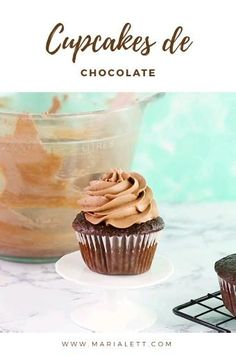 Cupcake Recipes, Dessert Recipes, Chocolate Videos, Delicious Desserts, Yummy Food, Un Cake, Brownie Cake, Butter, Love Cake