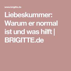 Liebeskummer: Warum er normal ist und was hilft | BRIGITTE.de