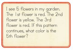 Math problem solving lessons (patterning, positional words, etc.)
