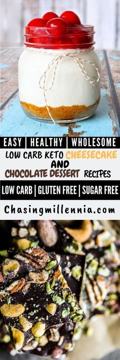 20 Amazing Low Carb/KETO Sugar-Free Dessert Recipes Are you a fan of keto baking recipes? Check this post on some of the best low carb cheesecake mousse recipes that you will ever stumble upon. Sugarfree Cheesecake Recipes, Cheesecake Mousse Recipe, Sugar Free Cheesecake, Easy Cheesecake Recipes, Sugar Free Desserts, Easy Cake Recipes, Low Carb Desserts, Baking Recipes, Dessert Recipes