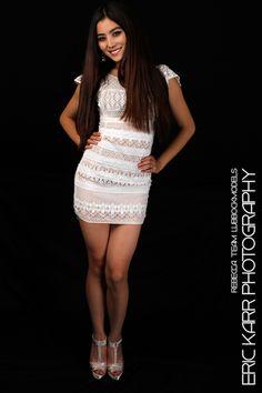 Rebecca in a White Dress.
