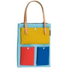 Toimi laukku, värikäs