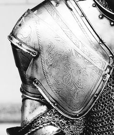 Engraved armor