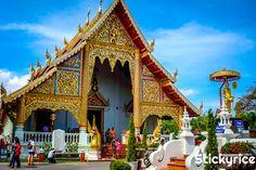 Conoce en esta guía de Templos en Chiang mai, los santuarios más preciados y valorados de la rosa del norte de Tailandia. #templos #tailandia #chiangmai
