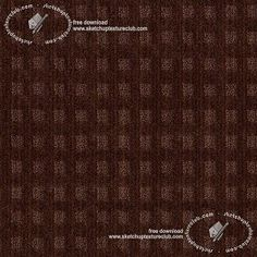 Textures Texture seamless | Brown carpeting geometric pattern texture seamless 19505 | Textures - MATERIALS - CARPETING - Brown tones | Sketchuptexture