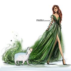 #StPatricksDay @emmakennyillustrations #FashionIllustrations |Be Inspirational ❥|Mz. Manerz: Being well dressed is a beautiful form of confidence, happiness & politeness