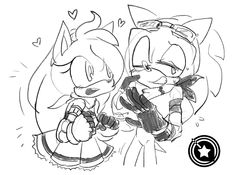 commission::Amy+Sonic by zxrom on DeviantArt