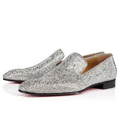 1260b6c419c4 Dandelion Strass Flat Version Silver Strass - Men Shoes - Christian  Louboutin