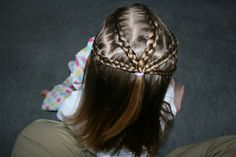 Row of Braids from Girly Do Hairstyles