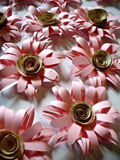 Gerber daisy paper flowers