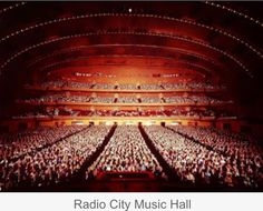 Radio City Music Hall interior, photographed by Yale Joel I Love Nyc, Radio City Music Hall, Life Magazine, Best Cities, Empire State, New York City, Hall Interior, Around The Worlds, Ceiling Lights