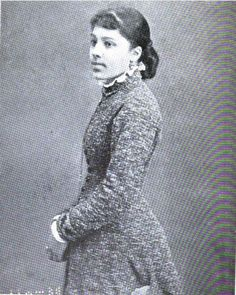 Nettie Langston Napier (1861-1938).  Activist and Social Reformer.  She was the daughter of a congressman and a lifetime trustee of the Frederick Douglass home in Washington, DC.  In 1924 she was elected president of the Frederick Douglass Historical and Memorial Association, charged with its preservation and governance.