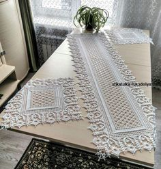 crochet pattern - Page 481 - Just another WordPress site Crochet Table Topper, Crochet Table Runner Pattern, Crochet Doily Diagram, Crochet Mandala Pattern, Filet Crochet Charts, Crochet Flower Patterns, Crochet Designs, Crochet Dollies, Crochet Decoration