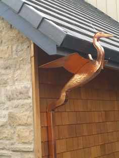 Decorative Rain Gutters | ve never given much (or any) thought to rain gutters. When we were ...
