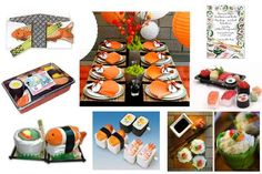 A Sushi Baby Shower For A Pregnant Woman's Ultimate Food Craving