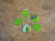 Look what someone made out of old Groupon gift cards!!! Upcycled Plastic Gift Cards Guitar Picks - Groupon 5 Pack via Etsy