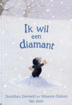 Jonathan Emmett en Vanessa Cabban. Mol is aangenaam verrast wanneer hij uit zijn holletje kruipt en voor het eerst sneeuw ziet. Hij gaat op onderzoek, en vindt een prachtige grote 'diamant'. Die neemt Mol mee naar huis. Geheel in de trant van het eerder verschenen prentenboek 'Ik wil de maan'.