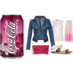Cherry Coke by koivy2604 on Polyvore
