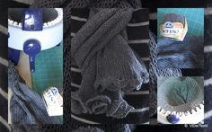 scarf = tube with big knitting mill