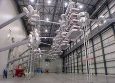 SIEMENS - One of the substations of the new 1,500 kilometer HVDC transmission line in China.