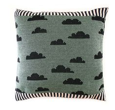 Partly Cloudy Pillow by sheilacouture on Etsy