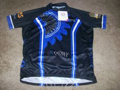 PRIMAL BICYCLES CYCLING JERSEY MENS LARGE ROAD/MOUNTAIN BIKE JERSEY NEW!