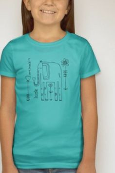 Create Your Own Luck tee.  Don't just wait for things to happen, go out there and make it happen for you!