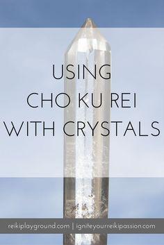 Using Cho Ku Rei with Crystals Energetically Clearing crystals , charging crystals, projecting, crystal grids. Self Treatment, Self Healing, Chakra Healing, Crystal Healing, Healing Hands, Was Ist Reiki, Sei He Ki, Chakras Reiki, Spirituality