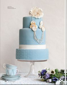 Cake Central Magazine feature! by Cake Ink. (Janelle), via Flickr