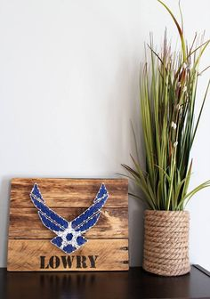 Air Force String Art - Military - Retirement Gift