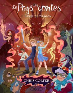 """FR-: Voici la couverture française du tome 3 du """"(Le) Pays des Contes"""" de Chris Colfer (l'acteur de la série US Glee...) que j'ai illustrée...."""