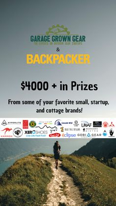 Welcome to the 2019 Ultralight Giveaway! Hosted by Garage Grown Gear and Backpacker Magazine, the Ultralight Giveaway features $4000+ in prizes from 21 different small, startup, and cottage outdoor brands. With 3 winners, and dozens of ways to earn additional entries, you won't want to miss out! Contest runs through June 5th and winners will be selected on June 6th. International entries are welcome! #giveaway #garagegrown #backpackermag #cloudlinesocks #hiking #backpacking… Thru Hiking, Go Hiking, Outdoor Brands, Outdoor Gear, June 6th, Ultralight Backpacking, Backpacker, Get Outside, Girls Be Like