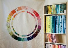 The Colorist quilt by Lizzy House - Love love love her fabric!