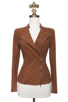 Dressing Your Truth - Type 3 A Rust Have Jacket